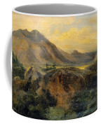 View Of Bagneres De Luchon. Pyrenees Coffee Mug
