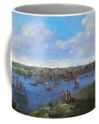 View Of Boston, 1738 Coffee Mug
