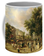 View Of Boulevard Montmartre Coffee Mug by Guiseppe Canella