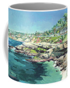 View Of Brockton Villa, La Jolla, California Coffee Mug