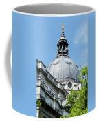 View Of Brompton Oratory Dome Kensington London England Coffee Mug