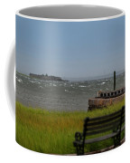 View Of Castle Pinckney During Tropical Storm Hermine Coffee Mug