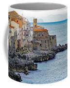 View Of Cefalu Sicily Coffee Mug