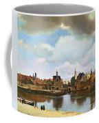 View Of Delft Coffee Mug by Jan Vermeer