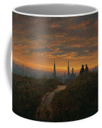 View Of Dresden At Sunset  Coffee Mug