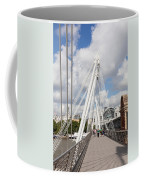 View Of Golden Jubilee Bridge, Thames Coffee Mug