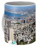 View Of Haifa Coffee Mug