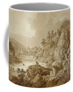 View Of Karlsbad In The Foreground A Young Mother With Her Children Coffee Mug