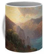 View Of Lac De Lucerne Seen From The Seelisberg, Switzerland Coffee Mug