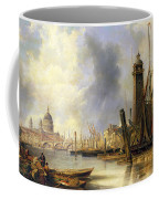 View Of London With St Paul's Coffee Mug