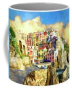 View Of Manarola Cinque Terre Coffee Mug