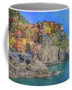 View Of Manarola Coffee Mug