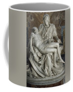 View Of Michelangelos Famous Sculpture Coffee Mug by James L. Stanfield