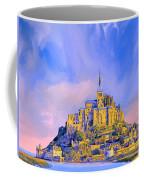 View Of Mont Saint Michel Coffee Mug