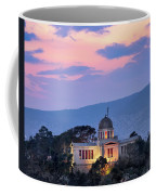View Of National Observatory Of Athens In The Evening, Athens, G Coffee Mug