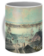 View Of New York From Brooklyn Heights Ca. 1836, John William Hill Coffee Mug
