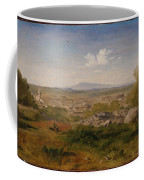 View Of Orange With Mont Ventoux Coffee Mug