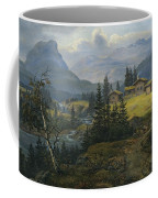 View Of Oylo Farm, Valdres Coffee Mug