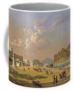 View Of Palermo 1845, Robert Salmon Coffee Mug