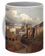 View Of Saint John Lateran Rome Coffee Mug by Joseph Desire Court