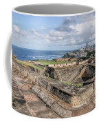 View Of San Juan From The Top Of Fort San Cristoba Coffee Mug