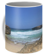 View Of Small Aruba Rock Formation On Boca Keto Coffee Mug