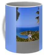 View Of St. Lucia Coffee Mug