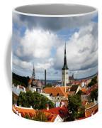 View Of St Olav's Church Coffee Mug by Fabrizio Troiani