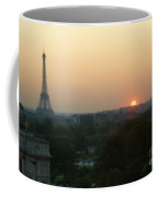 View Of Sunset From The Louvre Coffee Mug