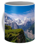 View Of The Swiss Alps Coffee Mug