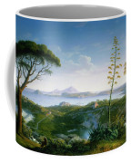 View Of The Bay Of Pozzuoli Coffee Mug