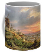 View Of The Butte Montmartre Coffee Mug