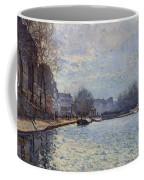 View Of The Canal Saint-martin Paris Coffee Mug
