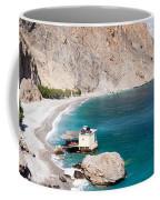 View Of The Glikanera Beach, Hora Coffee Mug