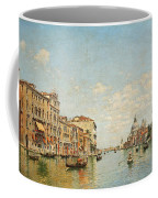 View Of The Grand Canal Of Venice Coffee Mug
