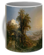 View Of The Harbor Of Puerto Cabello, Study Coffee Mug