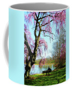 View Of The Lake In Spring Coffee Mug