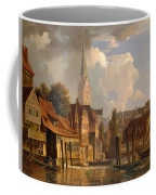 View Of The Little Alster Coffee Mug