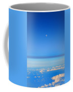 View Of The Moon From The Stratosphere Coffee Mug