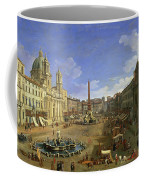 View Of The Piazza Navona Coffee Mug