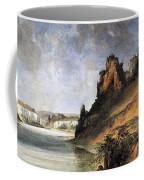 View Of The Stone Walls Coffee Mug