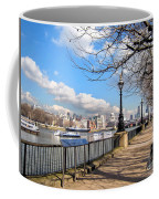 View Of The Thames Coffee Mug
