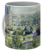 View Of The Tuileries Gardens Coffee Mug by Claude Monet