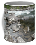 View Of The Wenatchee River Coffee Mug