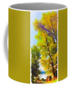 View Of The Willamette From The Trees Coffee Mug