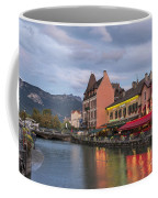 View Of Thiou River In Annecy Coffee Mug