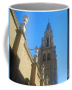 View Of Toledo Cathedral In Sunny Day, Spain. Coffee Mug