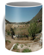 View Of Virginia City Nv From The Final Resting Place Coffee Mug