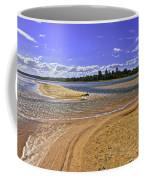 View Of Wollumboola Lake From Sand Dunes Coffee Mug