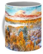 View Of Yosemite National Park Coffee Mug